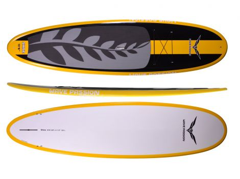 Dark Shine SUP-Yellow Stripe