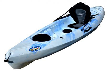 Ambush Kayak-Blue-White
