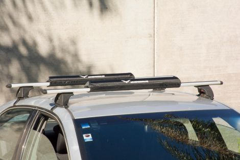 Soft roof rack pad
