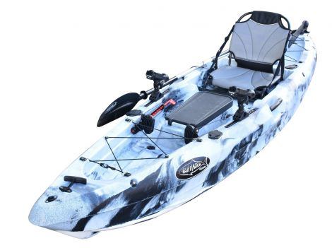 EZ320 Kayak-White-Black