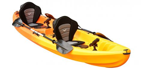 EZ365 Double Kayak-Red-Yellow - Pre Order
