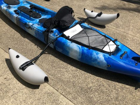 Inflatable Kayak Outrigger S