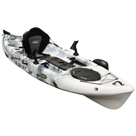 FishMaster Pro 4.3 Kayak-Blue-White-Black