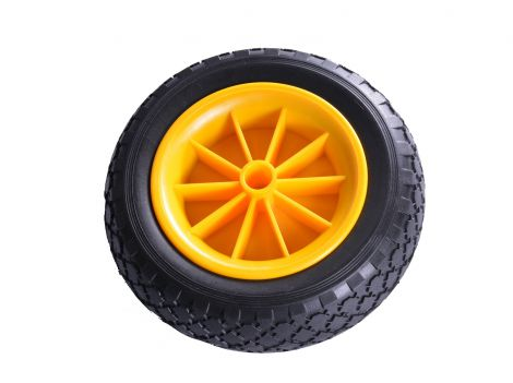 Non Flat PU Wheel