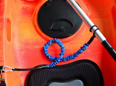 Kayak Paddle Leash Blue