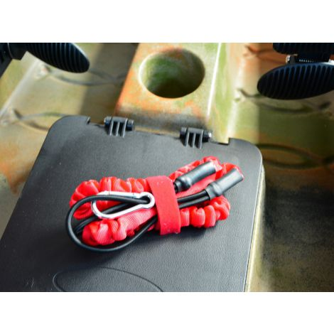 Kayak Paddle Leash Red