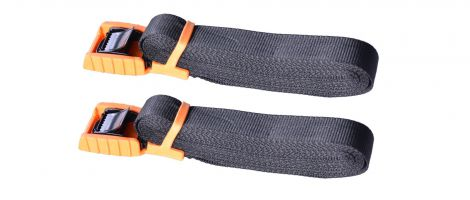 Cam Buckle Tie Down 4.5m pair