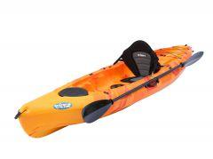 Ambush Kayak-Red-Yellow