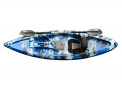 EZ300 Kayak-Blue-White-Black
