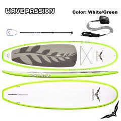 Hybrid Ride SUP-White Green-10ft6