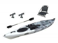 FishMaster Elite4 Kayak-White-Black