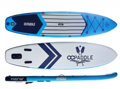 OC Paddle 11ft Blue Inflatable SUP