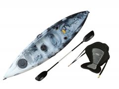 Ambush Kayak-White-Black