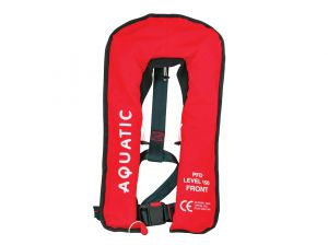 MENACE AQUATIC Inflatable Life Jacket Adult Red