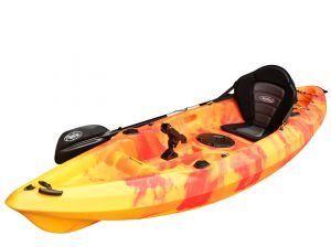 EZ300 Kayak-Red-Yellow