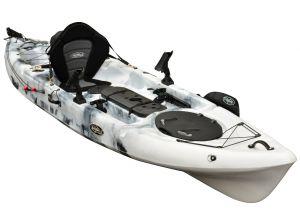 FishMaster Pro 4.3 Kayak-White-Black