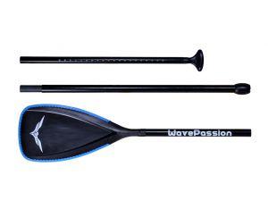 Fiberglass SUP Paddle Black
