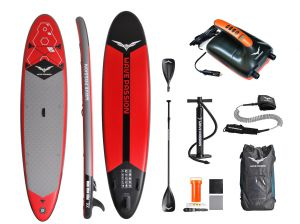 X6 inflatable SUP with E-Pump